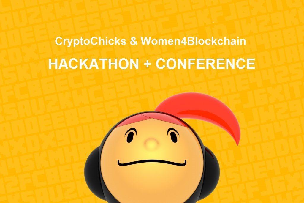 CrytpoChicks Woment4Blockchain Banner 1