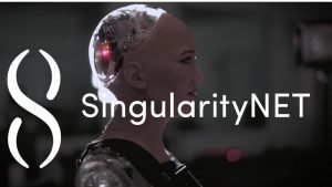 SingularityNET Demo of Sophia AI inside outs at the CryptoChicks 2019 Conference and Hackathon in Toronto