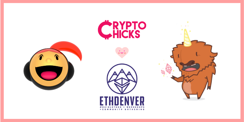 Twitter CryptoChicks ETHDenver 1