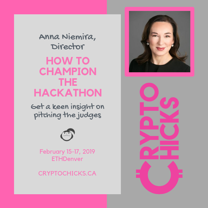 cryptochicks hackathon denver